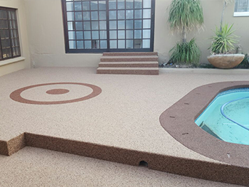 Pebble Floor And Wall Coating Has Found A Leading Edge In Providing An Ultimate Affordable Solution Designing Elegance Both Indoor Outdoor